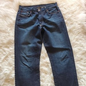 LUCKY BRAND CLASSIC FIT DISTRESSED JEANS 34 LONG